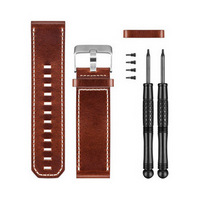 Garmin Fenix 3 Brown Leather Watch Band (коричневая кожа)