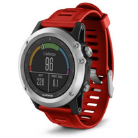 Garmin fenix 3 Silver (red)
