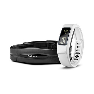 Фитнес браслет Garmin vivofit 2 HRM White Bundle